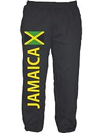 jamaika kurze hose JAMAICA Bermuda Shorts Schwarz M bis XXL Flagge Druck