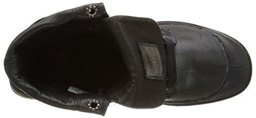 Palladium Baggy Pallab F, Damen Derby Schnürhalbschuhe Schwarz (315/black)