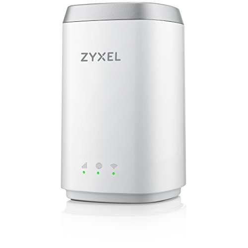 Zyxel AC1200 4G +3G/2G LTE Home Indoor WLAN Router mit SIM Slot [LTE4506]