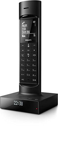 Philips Faro M7751B/FR Téléphone Fixe sans Fil...