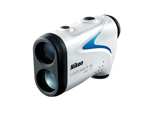 Nikon Coolshot 40 Télémètre de Golf Mixte Adulte, Blanc