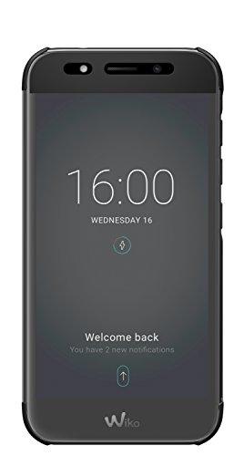 Wiko Etui smart folio Wiview pour Wiko WiM LITE noir