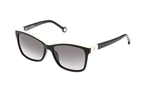 Carolina Herrera Damen SHE598550700 Sonnenbrille, Schwarz (Negro), 55