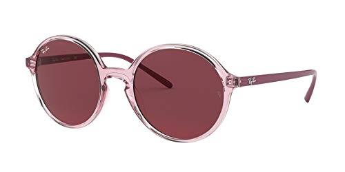 Ray-Ban Damen 0RB4304 Sonnenbrille, Braun (Transparente Pink), 52.0