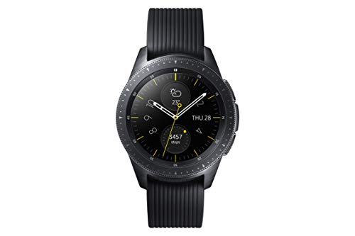 Samsung SM-R810NZKADBT Galaxy Watch 42 mm (Bluetooth), Schwarz -