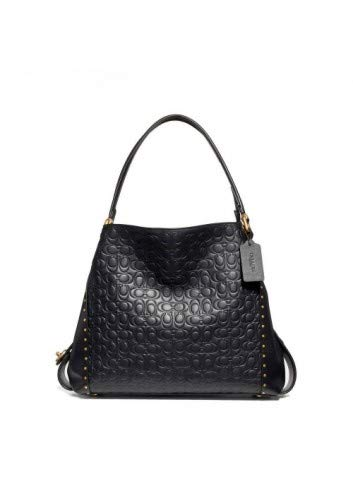 Coach Women's Leather Shoulder bags, 31866_B4BK -