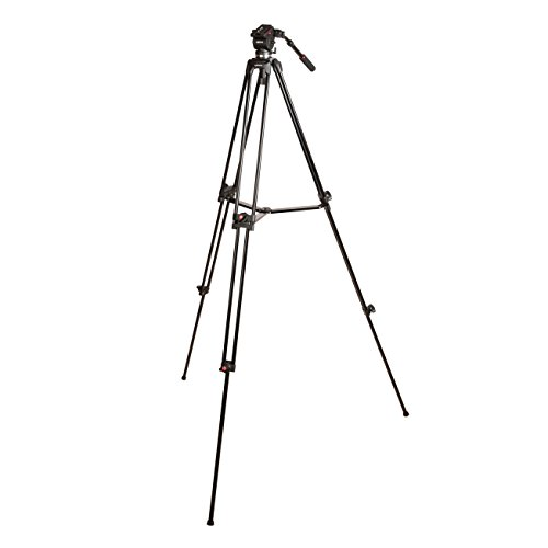Kenro Twin Tube Aluminium Video Tripod Kit with VH01B Ball Base Fluid Head