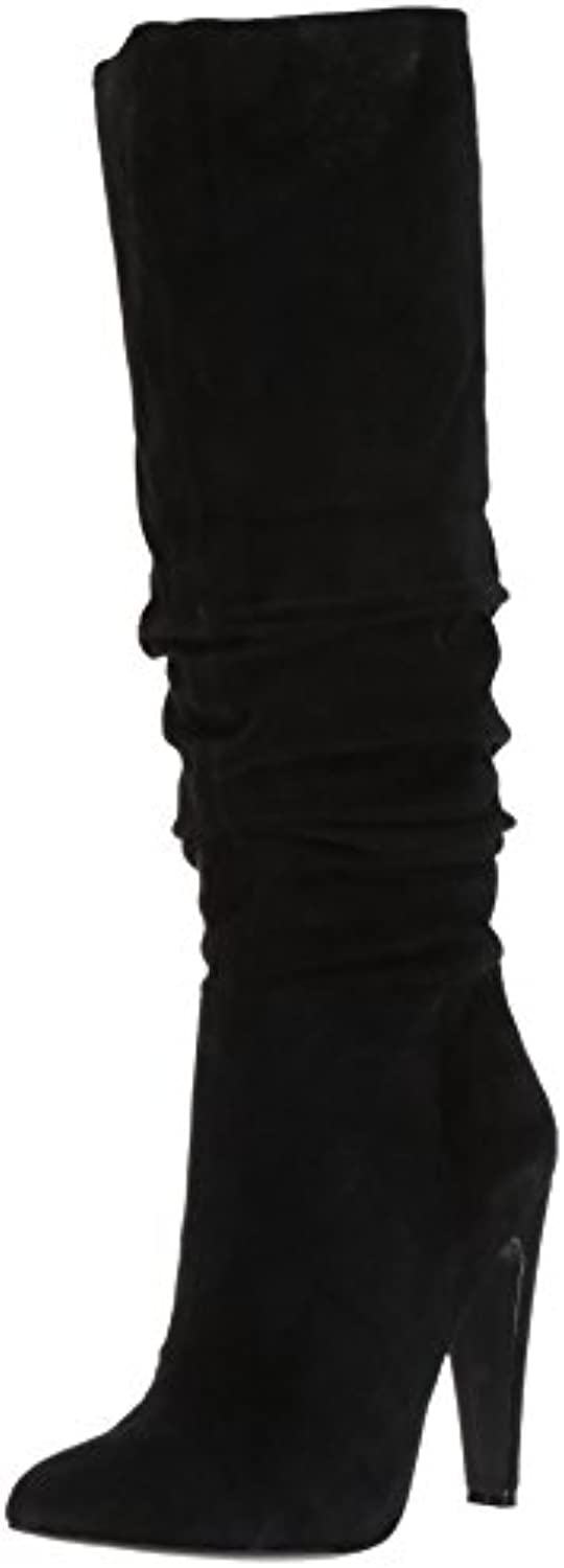 Steve Madden Wouomo Carrie Slouch avvio, nero Suede, Suede, Suede, 7.5 M US | ecologico