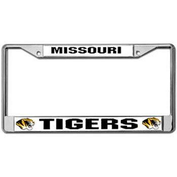 NCAA Missouri Tigers Chrome Plate Frame