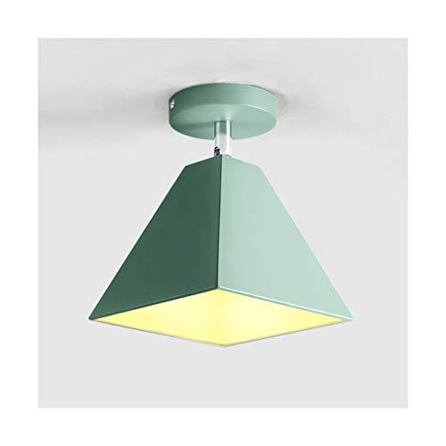 & Deckenleuchte Nordic Simple , E27 Schmiedeeisen Macaron , Wohnzimmer Dekor Kinderzimmer Balkon Küche Schlafzimmer Korridor Deckenleuchten Deckenlampe Schatten (Color : D)