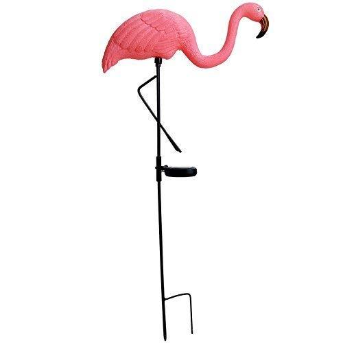 Gr8 Garden Solarbetriebene LED-Lampe mit Flamingo-Vogel, für den Außenbereich