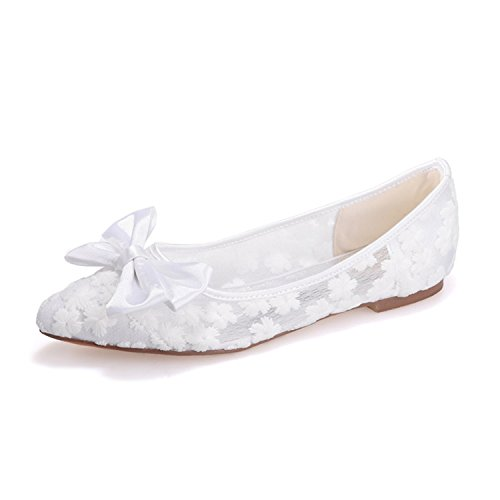 clearbridal-womens-lace-wedding-and-prom-shoes-pointed-toe-flat-heel-bridal-shoes-zxf2046-17wt-uk9