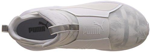 Puma Damen Fiero Cigno Wns Hallenschuhe Weiß (puma Bianco-puma Bianco 02)