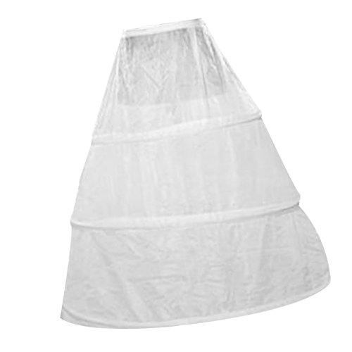 Sharplace Reifrock Petticoat 3 Ring Unterrock Tüll Ballkleid Krinoline Petticoat Hochzeit Kostüm (Kostüme Krinoline)