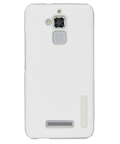 """Asus ZenFone 3 Max ZC520TL Cover, Custodia Protettiva Assorbimento di Scossa Doppio Strato in Flessibile TPU + Duro PC per Asus ZenFone 3 Max ZC520TL 5.2"""" 2016, Bianca"""