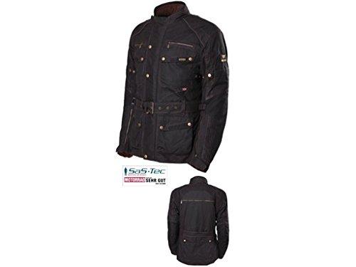 Preisvergleich Produktbild Modeka Glasgow Wachsjacke Schwarz 3XL