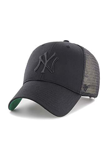 Gorra trucker negra con logo negro de New York Yankees MLB MVP Branson de  47 Brand 246f62eb471