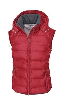 Pikeur Damen Steppweste Hedy Classic Collection Herbst-Winter 2019/2020, Bright red, 46