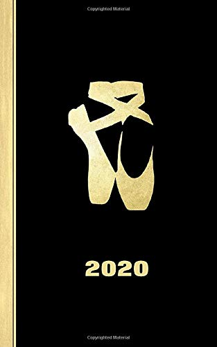 Ballerina Shoes Design: Diary Weekly Spreads January to December (Planners One Year 2020, Band 1) Ballet Shoes-bänder