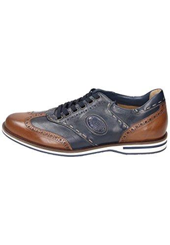 Galizio Torresi  312474 Marrone/Blu, Chaussures de ville à lacets pour homme Bleu