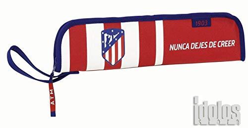 Safta Portaflautas Atlético De Madrid Oficial Protector Flauta 370x20x80mm
