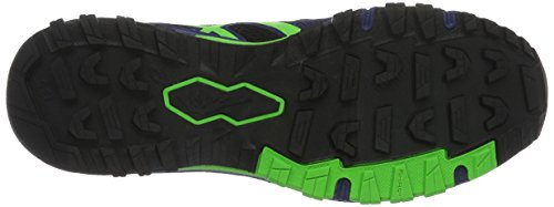 Asics Gel Fujiattack 5, Chaussures de Trail Homme Noir (Black/Green Gecko/Blue)