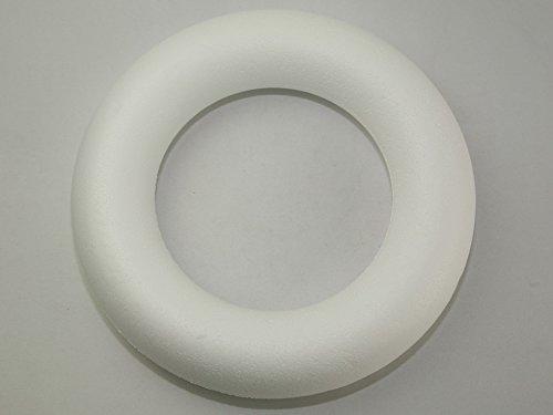 25cm, 1 Stück (Styropor-kranz)