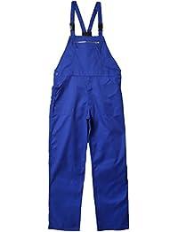 Wolfpack - Peto pantalones de trabajo, Azul Talla 56