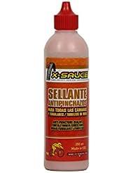 X-Sauce Sellante antipinchazos para todas las cámaras y tubulares/tubeless de ruta 500ml (500ml)