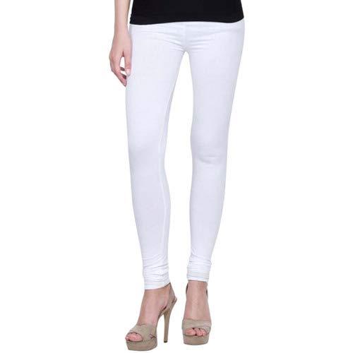 Ganesh Leggings Women\'s Cotton Lycra Leggings (Multicolour, Free Size)-Pack Of 5
