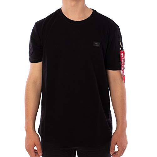 Alpha Industries X-Fit Heavy T-Shirt Schwarz S