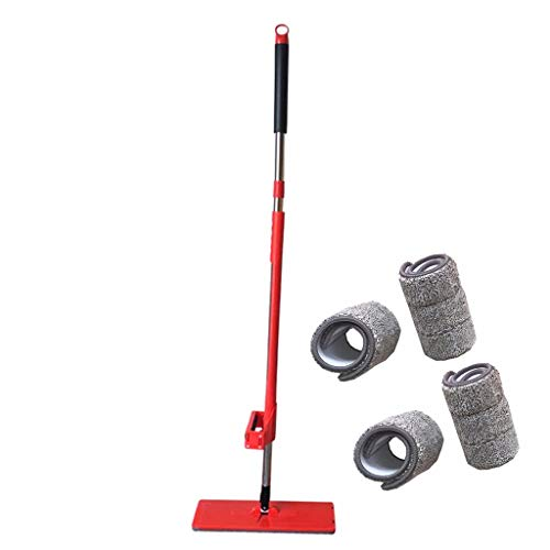MxjeeioSturdy Sweep Manual Sweeper Fregona Plana Mopa