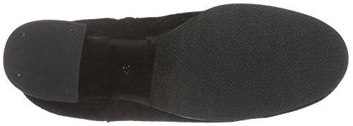 Bianco Damen Full Suede Boot 26-49063 Kurzschaft Stiefel Schwarz (Black/10)