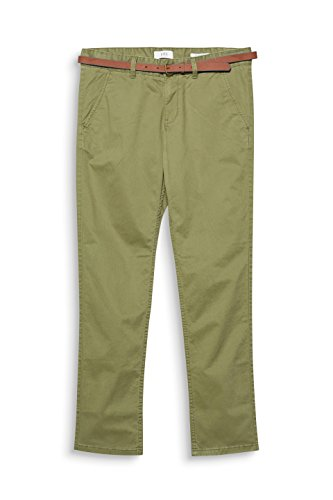 edc by ESPRIT Herren Hose Grün (Light Khaki 345)