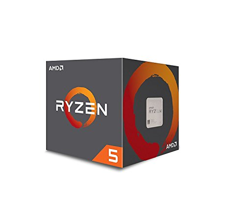 AMD Ryzen 5 1400 3.2GHz Caja - Procesador (AMD Ryzen 5, 3,2 GHz, Socket AM4, PC, 32-bit, 64 bits, 3,4 GHz)