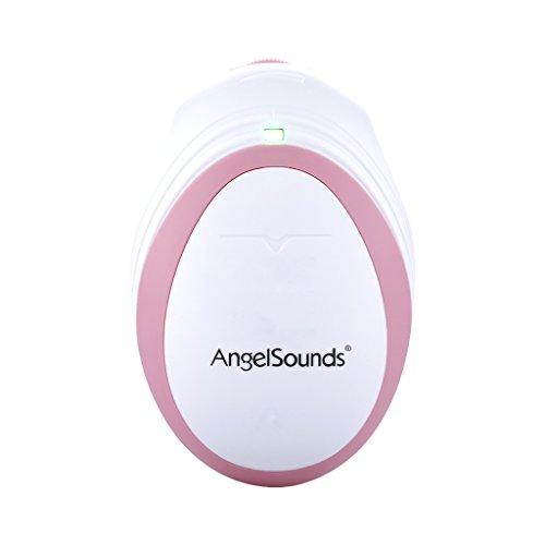 Angelsounds JPD-100S Dispositivo para Escuchar los Latidos Corazón de Bebé Monitor de Fetal Control Ultrasonido