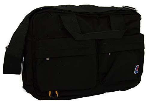 40221082b7 K-Way Borsa tracolla bag messanger articolo 4AKK5702 BRIEFCASE - colore A2  NERO BLACK -