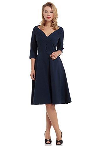 Voodoo Vixen -  Vestito  - Donna blu XL