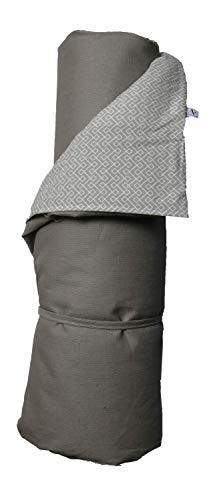 A.U MAISON Picknickdecke Infinity 140x180cm grau