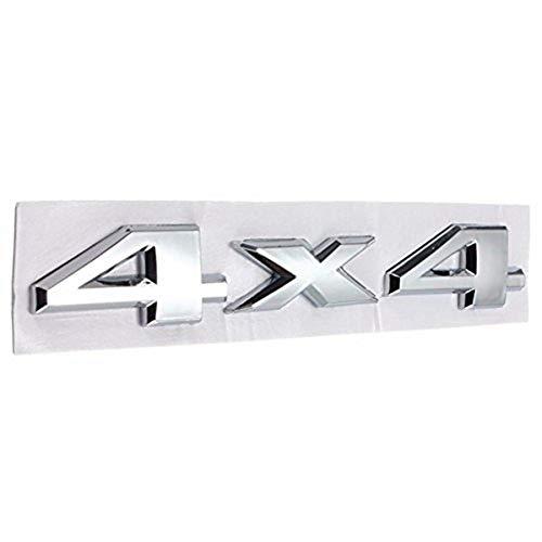 4 X 4 Aufkleber Chrom Logos Aufkleber Emblem Für Jeep Dodge Abs ()