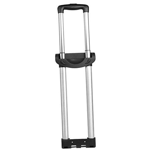 non-brand gazechimp Poignée Tige Valise Bagage en Alliage d'Aluminium Pièces de Réparation pour Grip G003 - Deux Barres
