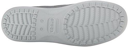 Crocs Herren Santa Cruz 2 Luxe Slip-on Grau (antracite / Grigio Chiaro)
