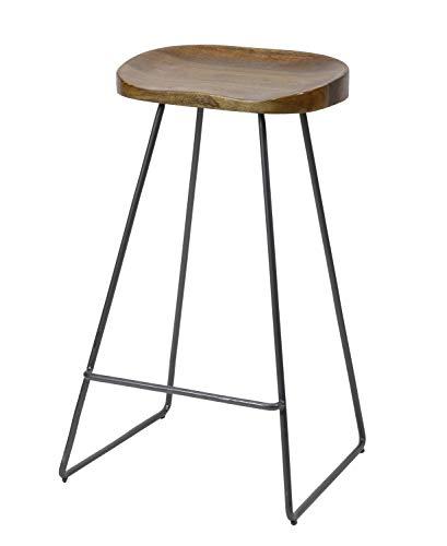 SalesFever Der Holzsitz besteht aus Akazienholz