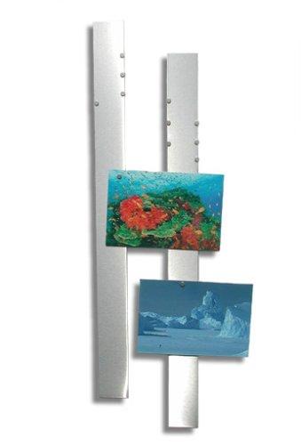 Flux-Objects Design, Foto-Pinnwand aus Edelstahl -