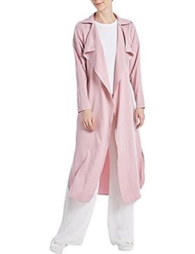 Zhhlinyuan Diseño de Moda Middle East Jalabiya Kaftan Caftan Dubai Windbreaker Lap Coat Cardigan Outerwear para...