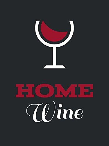 Home Wein Flasche Etiketten für Homemade Wein Flaschenaufkleber Größe 9 x 12 cm - 100 Stück