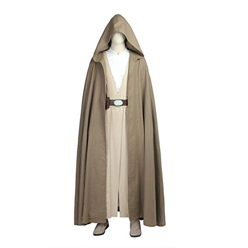 Star Wars 8 Luke Skywalker Jedi Knights mit einem vollständigen Satz von Cos Kleidung Männer können Halloween-Kostüme angepasst - Star Wars Jedi Knight Für Erwachsenen Kostüm