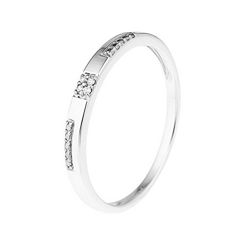 cf365710eb2 and you you alliance d eternite femme 9 k 375 or blanc diamant ronde taille  48