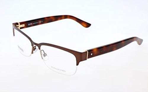 BOSS Hugo Damen Hugo Orange Brille Brillengestelle, Braun, 53