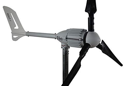 Windgenerator 1000 Watt Windkraft, Windturbine, in 24V oder 48V zur Auswahl (48V ohne Zubehör)